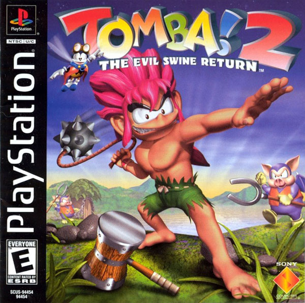 Tomba! 2 - The Evil Swine Returns [U] Front Cover